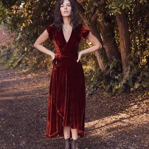 Christy Dawn Dresses - Christy Dawn the Autumn in Velvet size S NWT